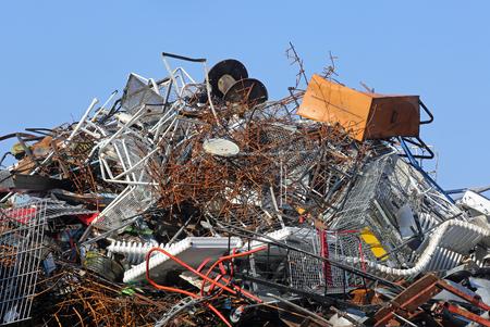 scrapyard: Scrapyard Stock Photo