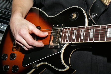 guitarist Stockfoto