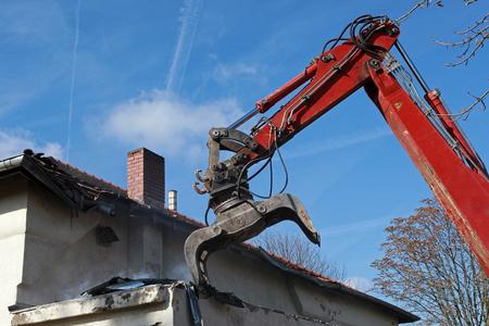 Démolition de bâtiments