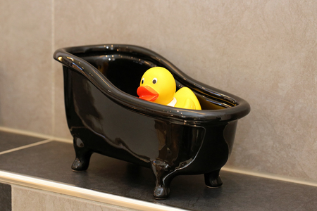 Duckling in the tub