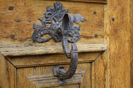 Old door handle Standard-Bild