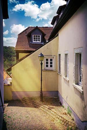 Small alley in Neuleiningen