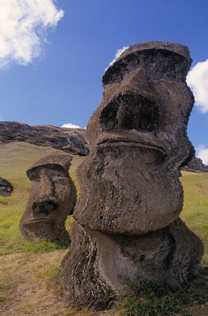 Easter Island - the entrance to another world Stock Photo - 4381888