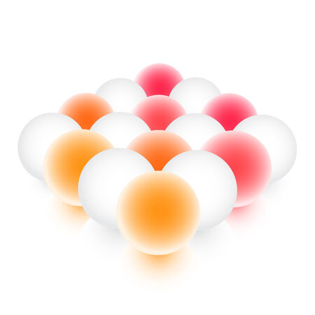 Colorful spheres Vector