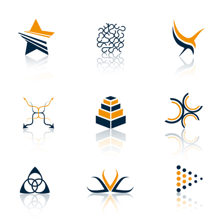 interface elements: Logo collection