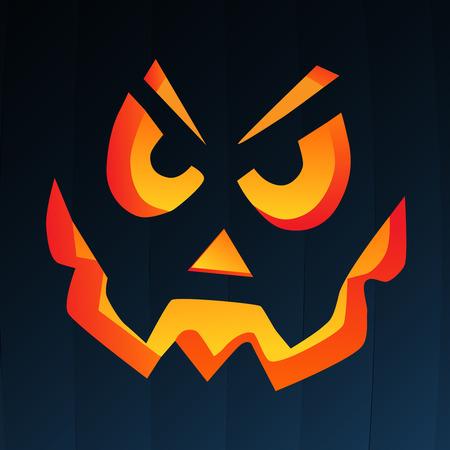 pumpkin head: Pumpkin face