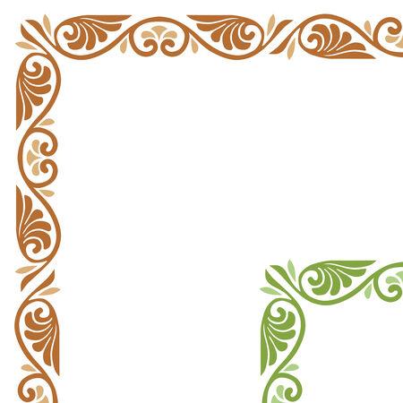 floral vector: floral vector marco
