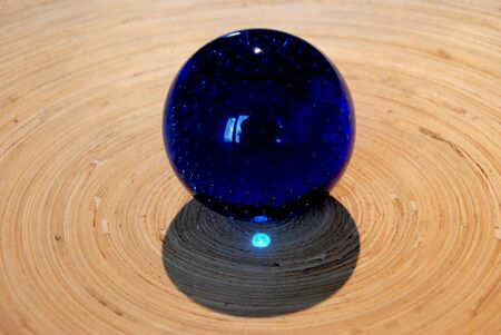 boll: Blue boll Stock Photo