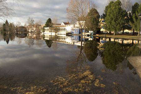 Flood in Sweden