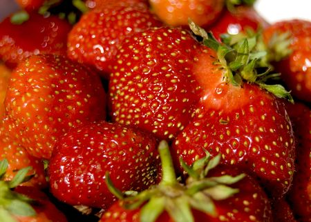 Strawbery Stock Photo