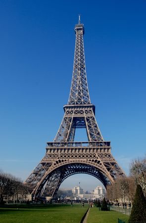 effel tower Stock Photo