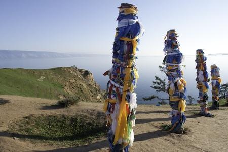 Bajkal, Olhon island Stock Photo