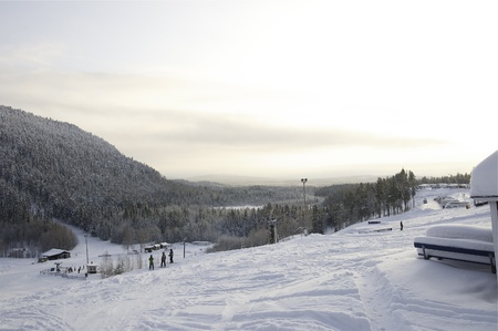 slalom: Storklinten górskie slalomu, Styczeń