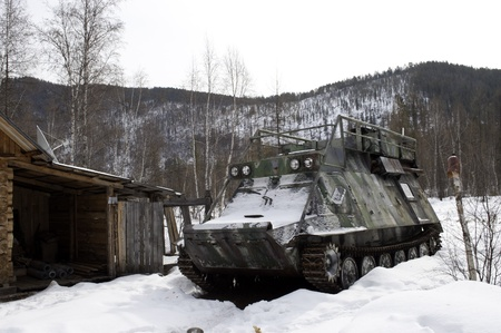 cross country: Todoterreno ruso de edad