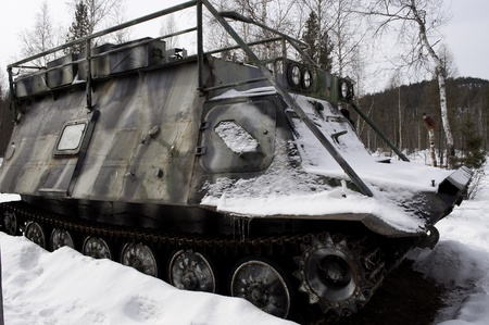 Cross -country old russian vehicle