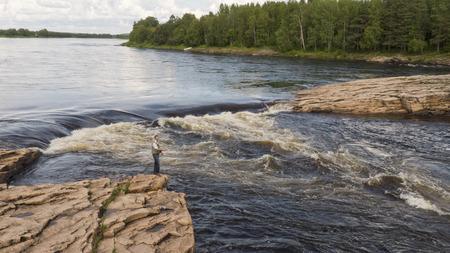 Fishing in the north of Scandinavia, Juoksengi