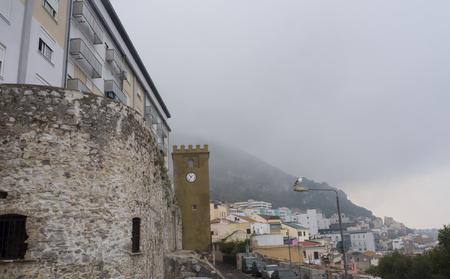 Roca de Gibraltar Foto de archivo - 89524802