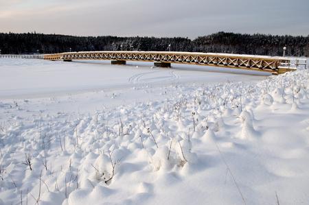 Bridge on storforsen