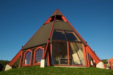 Church near Storforsen in the north of Sweden