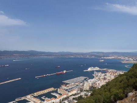 Gibraltar rock Foto de archivo - 120294178