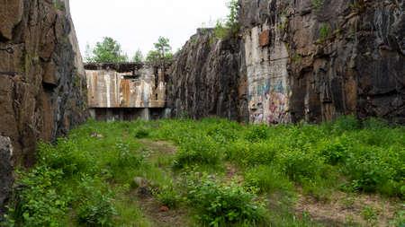 Battlefields, swedish naval base, North of Sweden