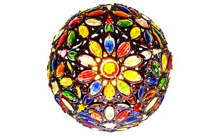 mirrorball: Disco type globe with variety of colours