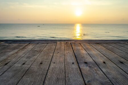 Viewing the sunrise at the beach in Hua Hin