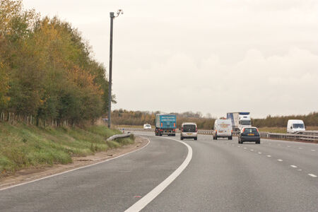 slow lane: Motorway Lanes