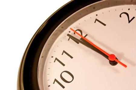 Close up of a clock photo