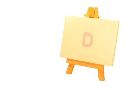 d: Painted D