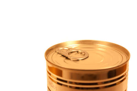 receptacle: Top of a Tin of Food