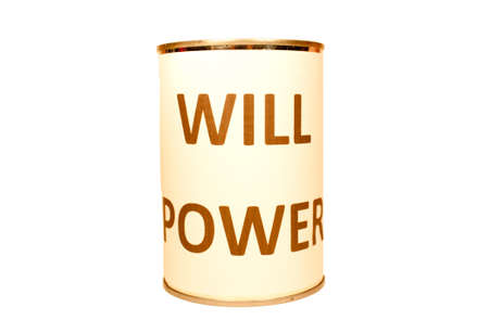 will power: Will Power ! Stock Photo