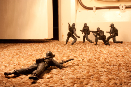 overval: Special Forces Raid Stockfoto