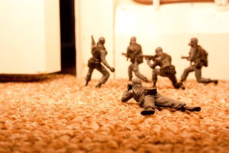 elites: Special Forces Raid Stock Photo