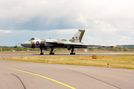 falklands war: The Vulcan Bomber - XH558