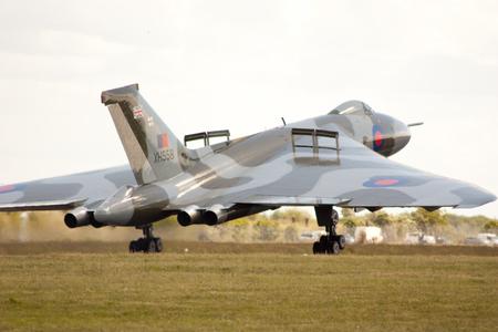 falklands war: The Vulcan Bomber - XH558