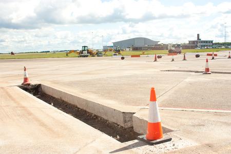 repairs: Airport Parking Area Repairs