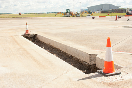 cordoned: Airfield Repairs Editorial