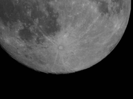 craters: Moon Craters Stock Photo