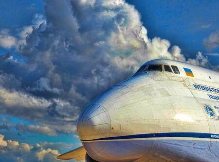 freightliner: Antanov 124-100M Nose