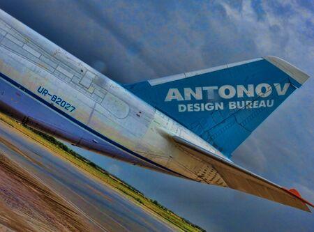 freightliner: Antanov 124-100M Tail