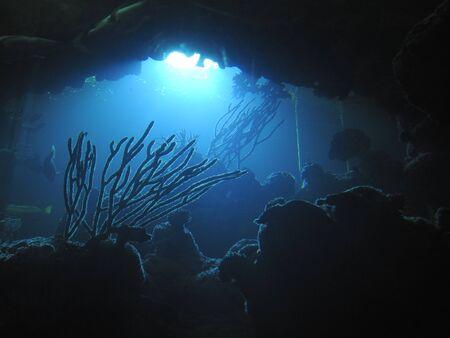 Dark Ocean Depths Reklamní fotografie