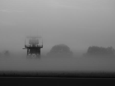 atc: Airport Radar In Fog