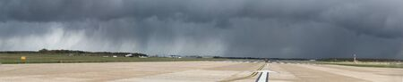 of pano: Airport Storm Brewing