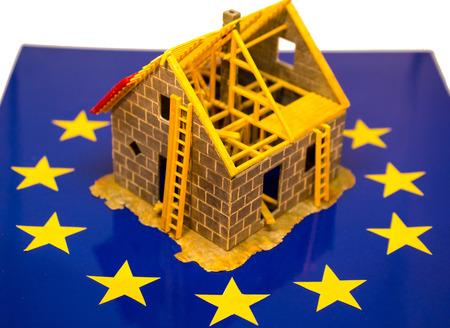Gehäuse der Europäischen Union Standard-Bild - 80329889