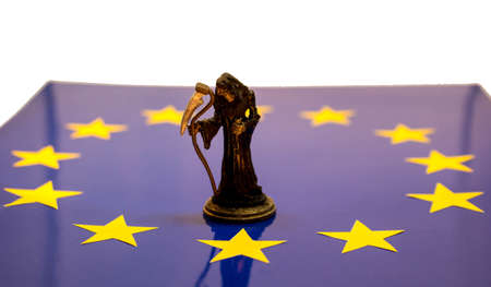 Grim Brexit Stock Photo