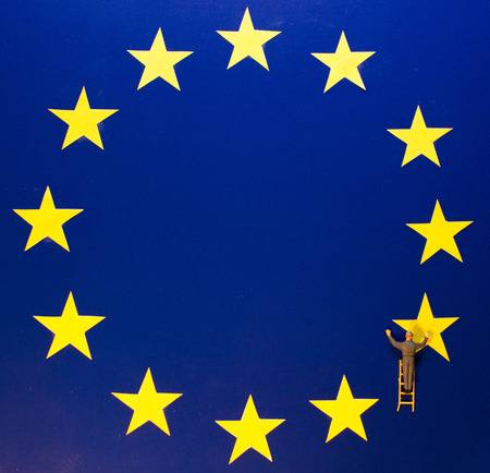 EU Britain Flag Removal