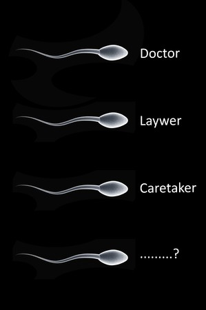 A look at what type of future a simple sperm could have. Imagens