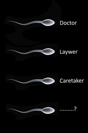Een blik op wat voor soort toekomst een eenvoudig sperma zou kunnen hebben.