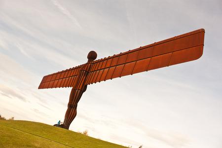Angel of The North, Newcastle, Engeland, Verenigd Koninkrijk.